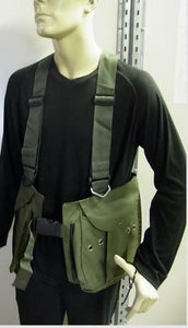 Falcony Hawking vest made from Cordura with real brass buttons not coloured
