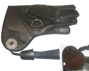Ladies Goatskin Falconry glove .....best ladies glove on the market (short cuff)
