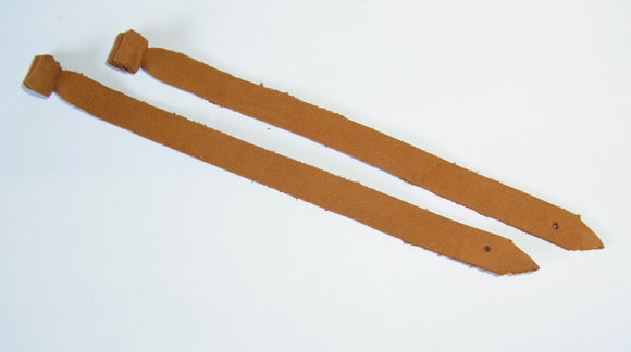 Falconry Flying Leather Jesses. Cowhide   1.5mm    or 2.5mm