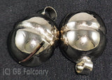 nickel plated falconry lahore bells Size 11 only