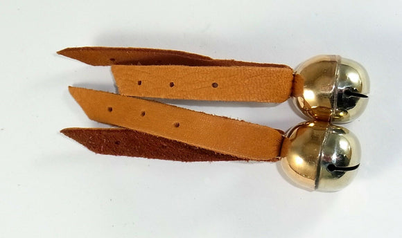 Falconry Leather Bewits. Pairs (bells not included)