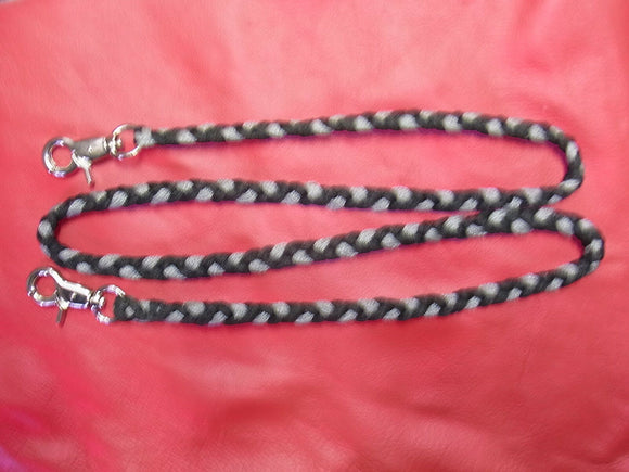 Falconry Braided Special 1 metre leash with 10 braided Paracord leash one Meter