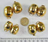 Acorn Bells, Gold Plated for Falconry with free Bewits