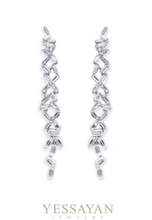 Load image into Gallery viewer, Baguette Diamond Earrings