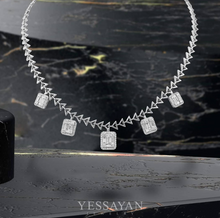 Load image into Gallery viewer, Illusion Diamond Necklace