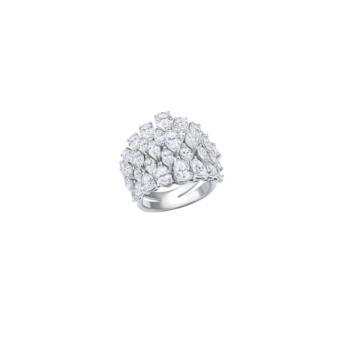 Classic Pear & Marquise Diamond Ring