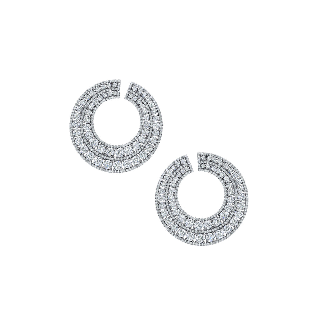 Rotondo Diamond Earrings