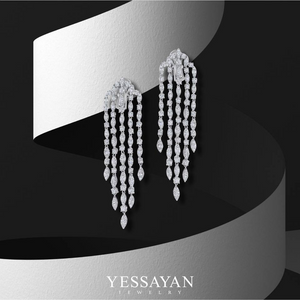 Chandelier Diamond Earrings