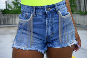 Chain'd Up Shorts