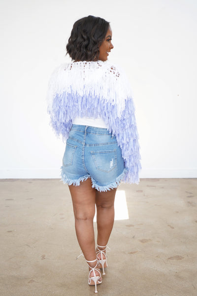 Fringe Out Shorts