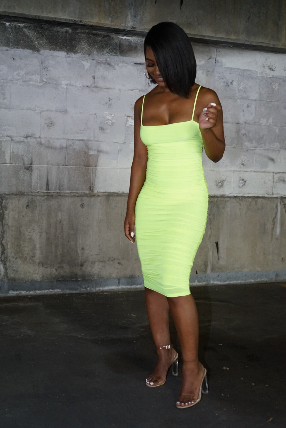 Neon Baddie Dress
