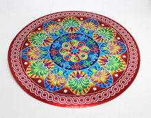Load image into Gallery viewer, Diwali Rangoli Sticker Round Indian Mandala Bigger - Puja Gift Item