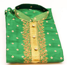 Load image into Gallery viewer, Indian Boys Kurta with Churidar pyjama Size-11