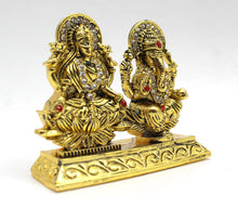 Load image into Gallery viewer, Metal Show Piece Small Statue Idol For Car Dash Board Home Temple Gift Item