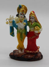Load image into Gallery viewer, RADHA KRISHNA STATUE HINDU GOD IDOL FOR HOME TEMPLE GIFT ITEM