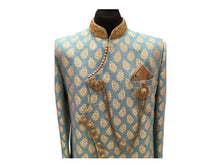 Load image into Gallery viewer, Men's Kneelong Sherwani Bollywood Style. chest -42