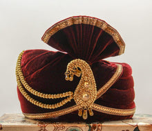 Load image into Gallery viewer, Wedding Pagri, Safa, Bollywood Hat