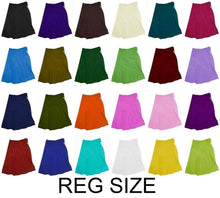 Load image into Gallery viewer, Women's Cotton Indian Readymade Petticoats Inskirt / under skirt Saree Petticoats - Regular Size