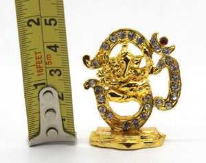 Indian God Metal Show Piece Small Statue Idol For Car Dash Board Home Temple Gift Item