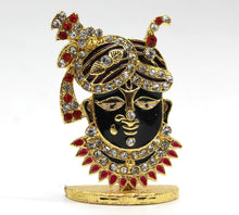 Load image into Gallery viewer, Indian God Metal Show Piece Small Statue Idol For Car Dash Board Home Temple Gift Item