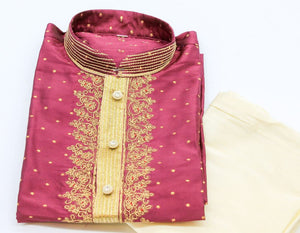Indian Boys Kurta with Churidar pyjama Size-10