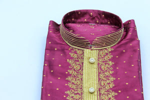 Indian Boys Kurta with Churidar pyjama Size-4