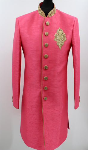 Men's Sherwani Kurta Art Silk Man's Wedding Dress - Size -36