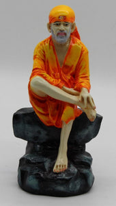 SHIRDI SAI BABA STATUE IDOL FOR HOME TEMPLE DECORATION GIFT ITEM