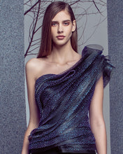 Architectural Shimmery Top