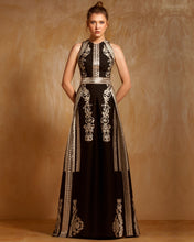 Jacquard Embroidered Dress