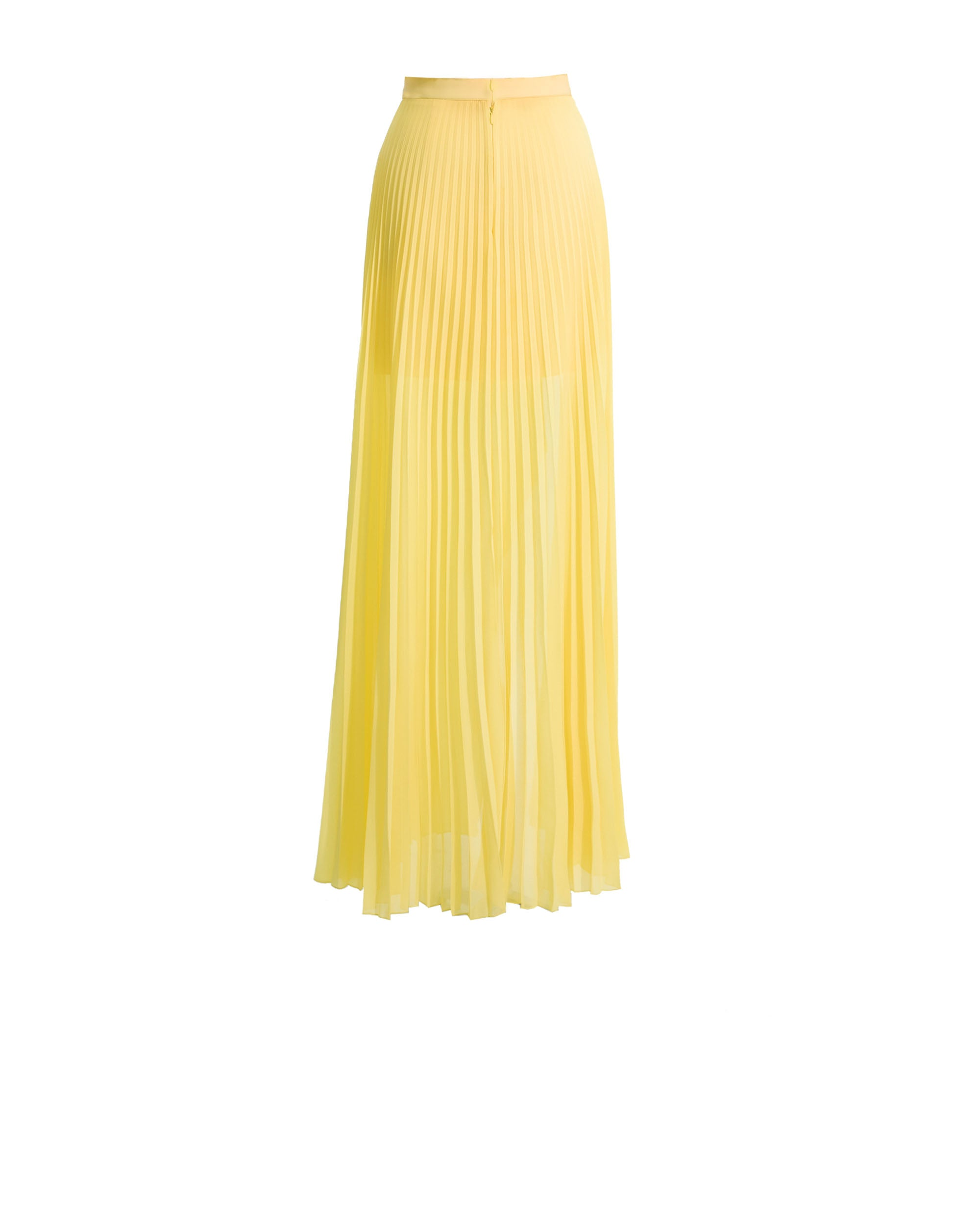 Mousseline Pleated Skirt