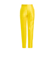 Piqué Yellow Pants