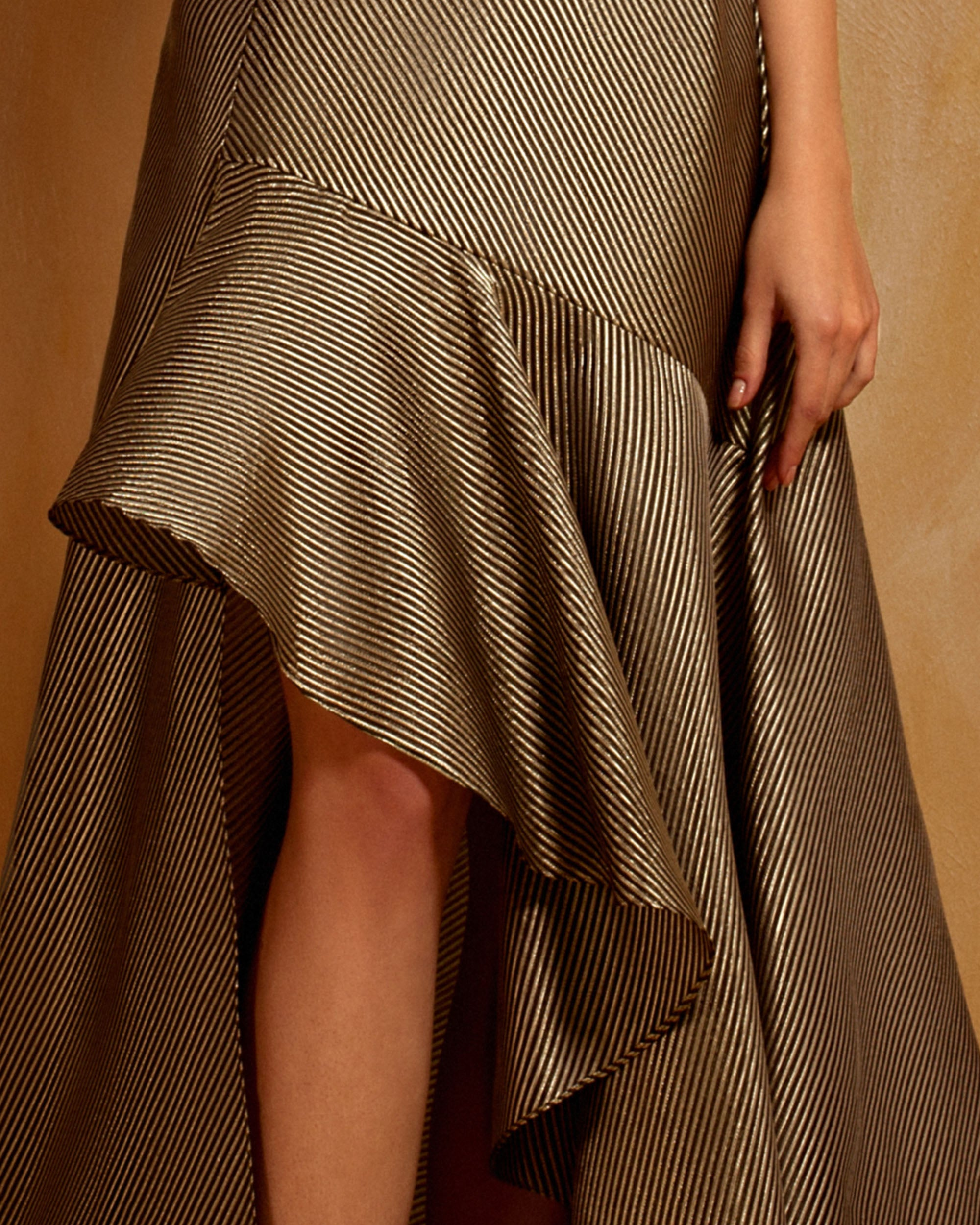Asymmetrical Ruffled Skirt