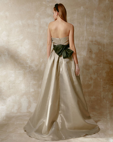Strapless Long Dress