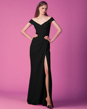 Crepe Black Dress