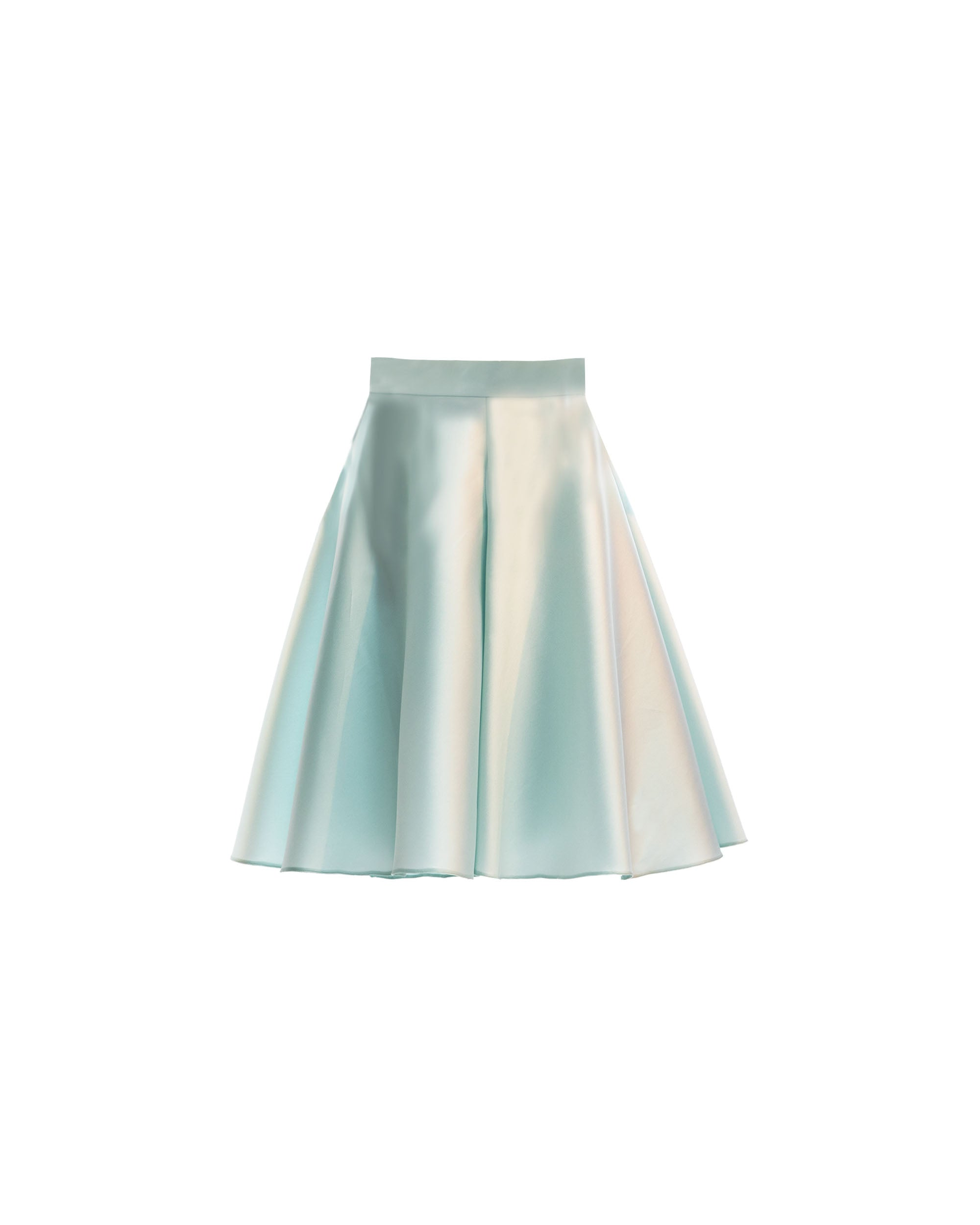 Full Cut Mikado Short Skirt