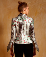 Fitted Jacquard Jacket