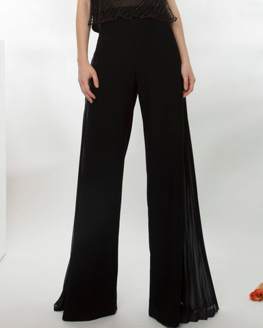 Pants With Chiffon Details
