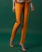 Slim-Cut Crepe Pants
