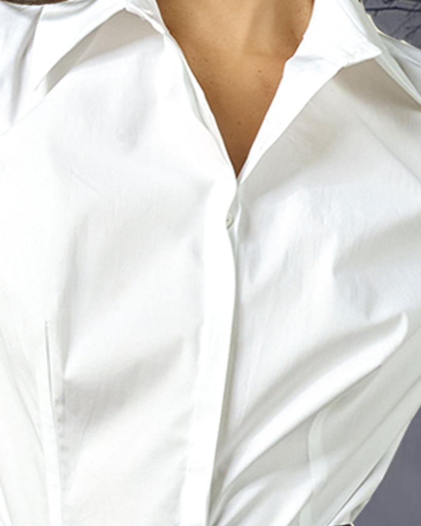 Shirt With Buttons Details
