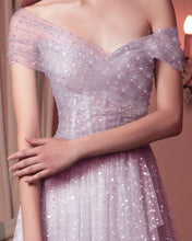 Pink Grey Tulle Dress
