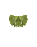 Squared Neckline Printed Dress