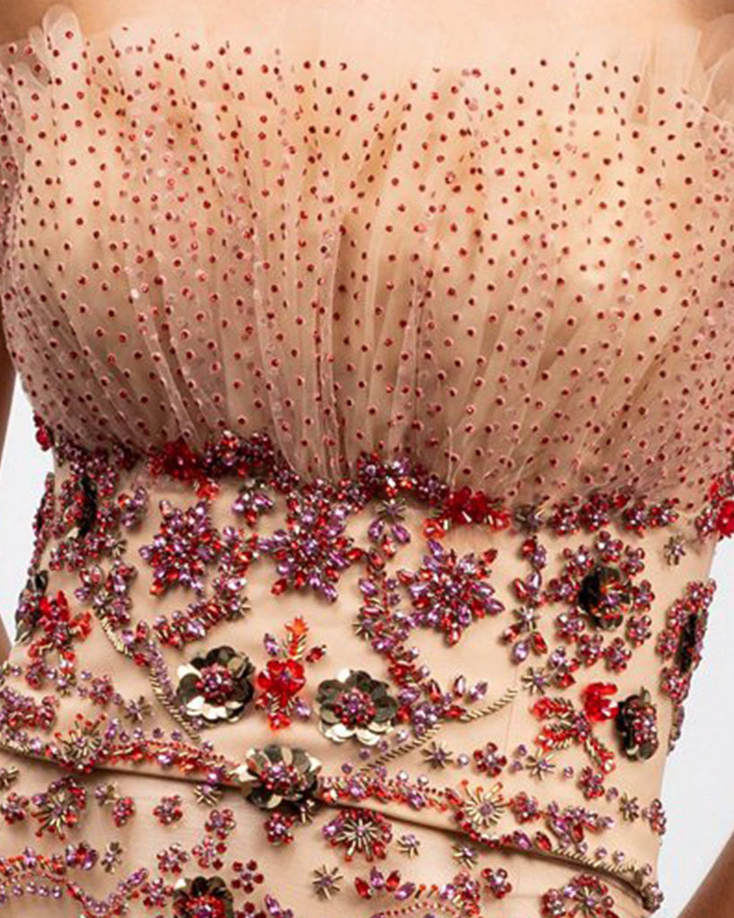 Fully Bejeweled Top