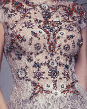 Lace Bejeweled Top
