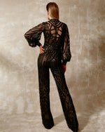 Fully Sequined Jumpsuit