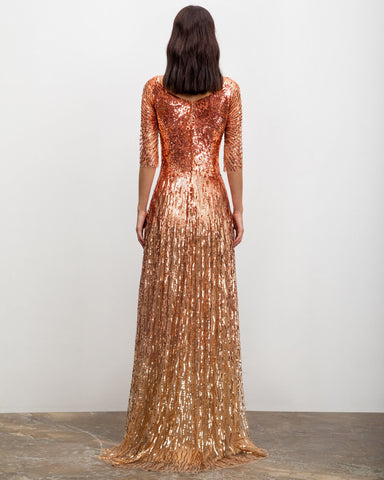 Fully Sequined Dress