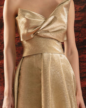 Bow-Tie Strapless Dress