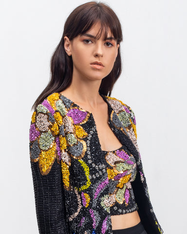 Fully Beaded Jacket