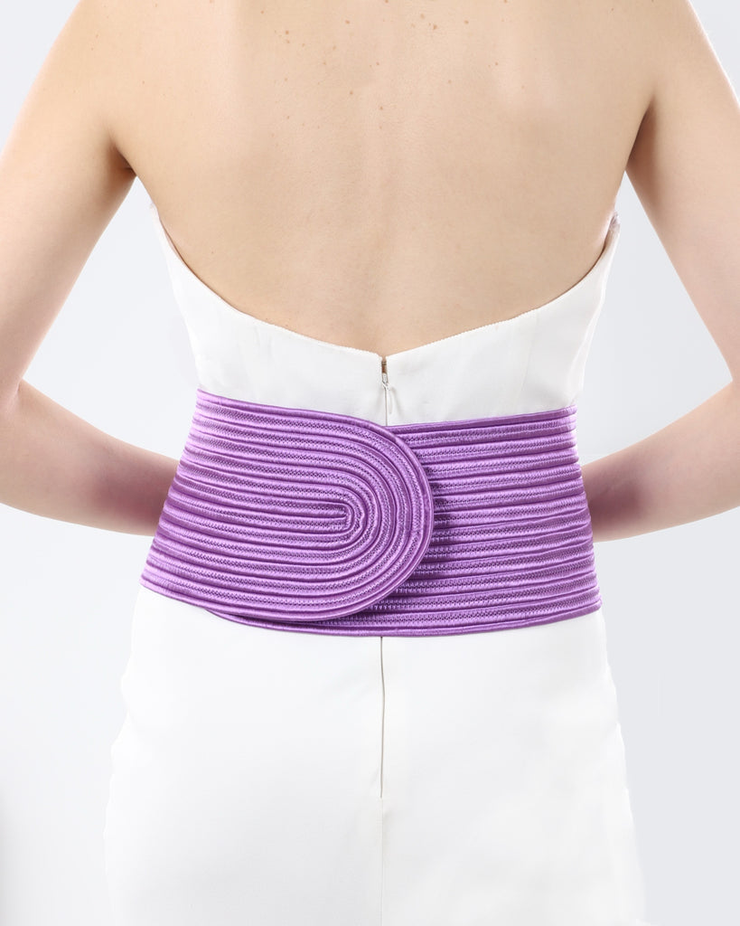 Knitted Purple Belt