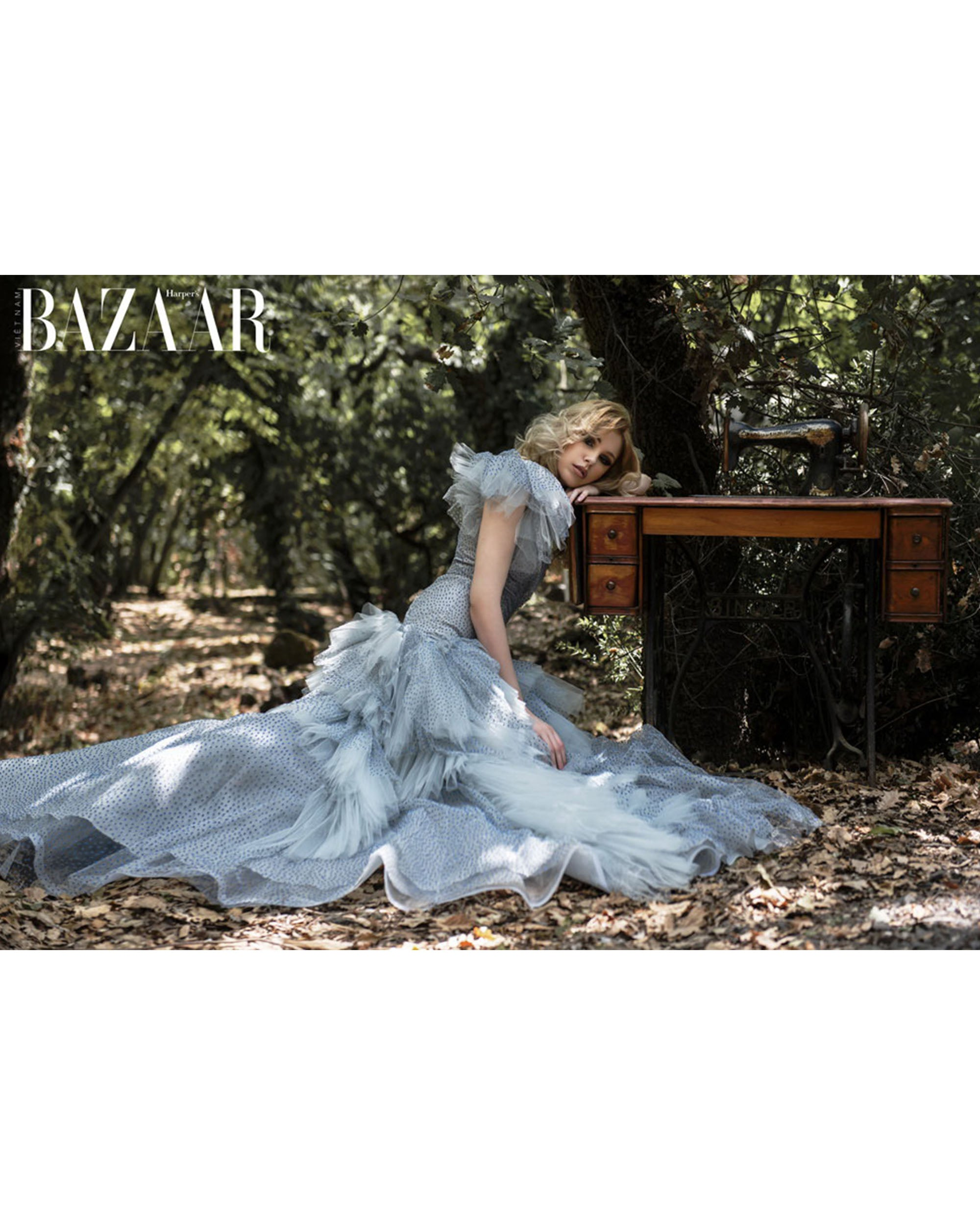 Margot Des Alyses In Harper's Bazaar Magazine